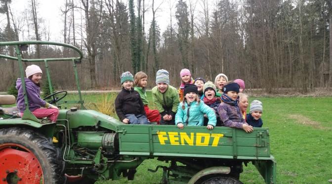 Impressionen des Geschehens im Waldkindergarten in den letzten Wochen