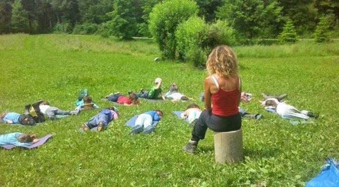 Verschiedenes aus dem Alltag im Waldkindergarten