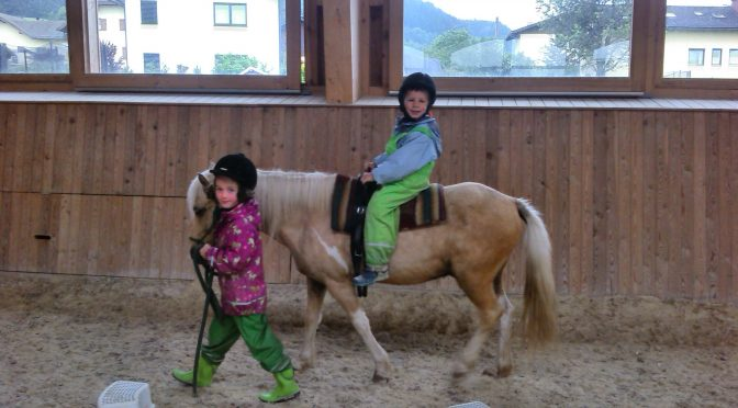 Ausflug nach Nußdorf zum Pferdetherapiehof der Familie Haderer
