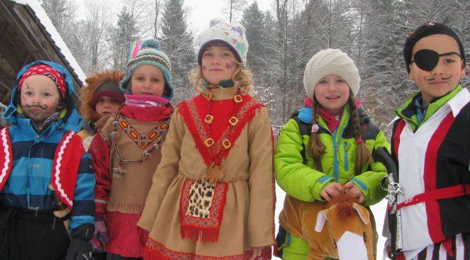 Fotos vom Waldkindergarten-Fasching 2018