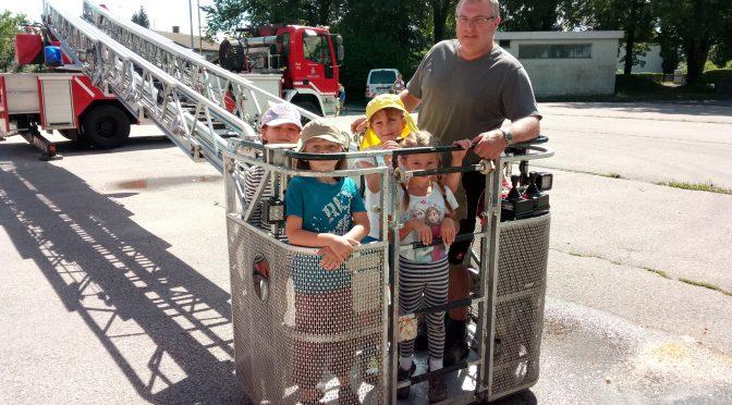 Feuerwehrbesuch in Laufen
