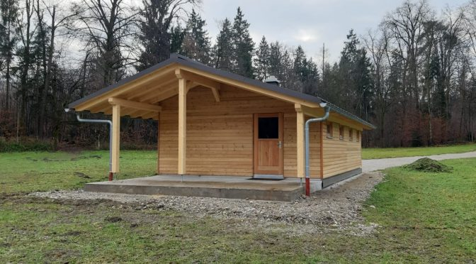 Eindrücke vom Hüttenbau